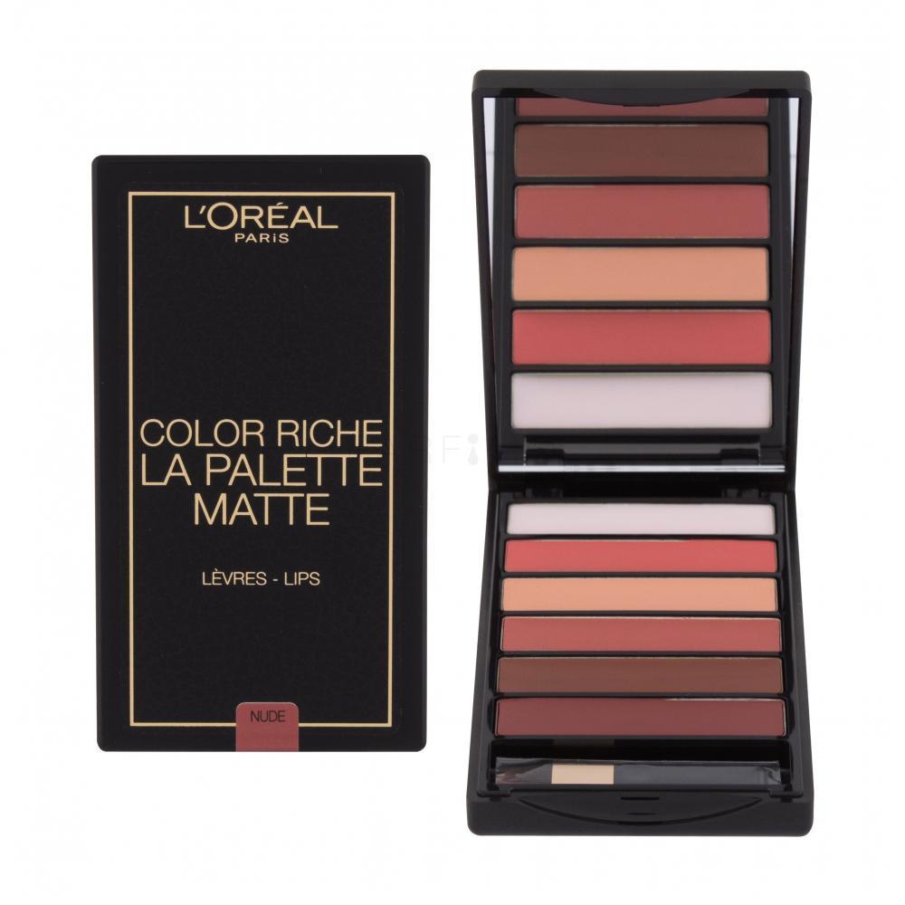 Loreal Paris, Color Riche La Palette Lips, paletka