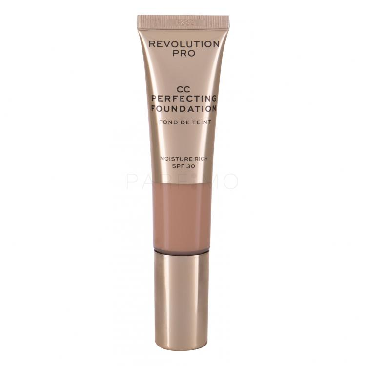 Makeup Revolution London Revolution PRO CC Perfecting Fond de ten pentru femei 26 ml Nuanţă F5